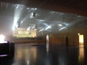 Tontechnik, Lichttechnik, Videotechnik, Bühnen